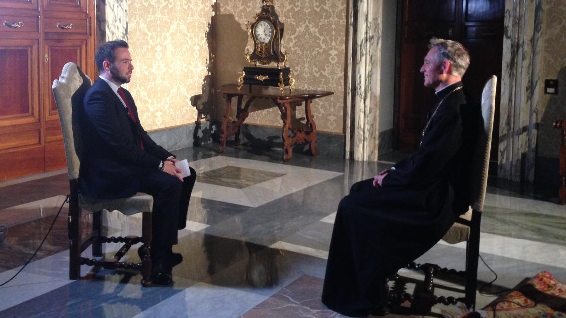 La mia intervista a Mons. Georg Gänswein