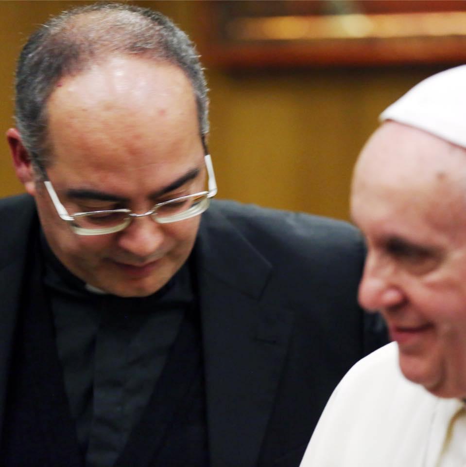 Il Papa e Mons. Karcher